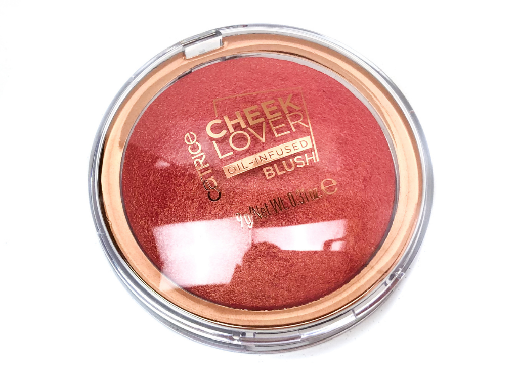 Catrice 010 Blooming Hibiscus Cheek Lover Oil-Infused Blush | Review