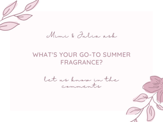 What's your go-to summer fragrance?