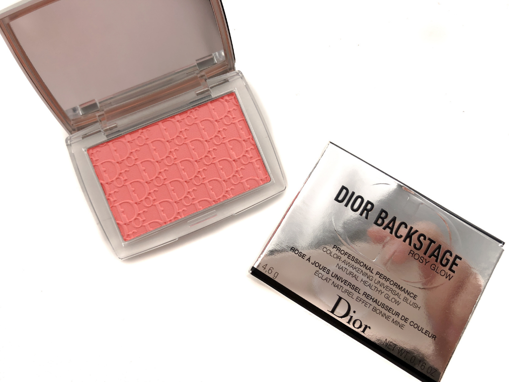 Dior Backstage Coral Rosy Glow Color Awakening Universal Blush | Review